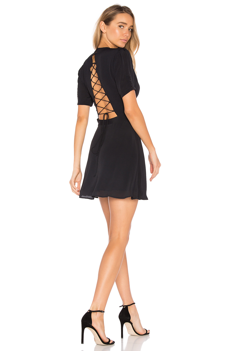 Privacy Please Virginia Dress in Black
