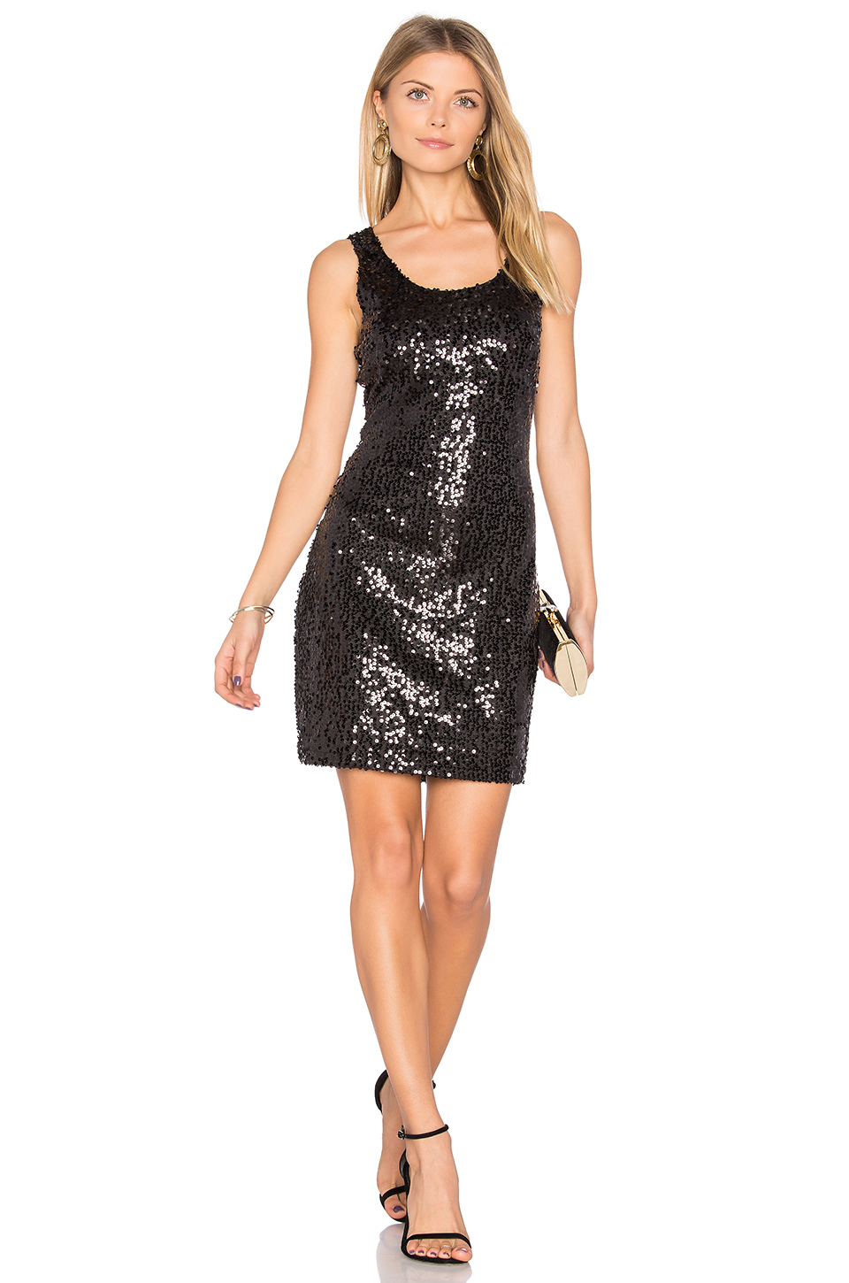BB Dakota Jack By BB Dakota Luciano Dress in Black