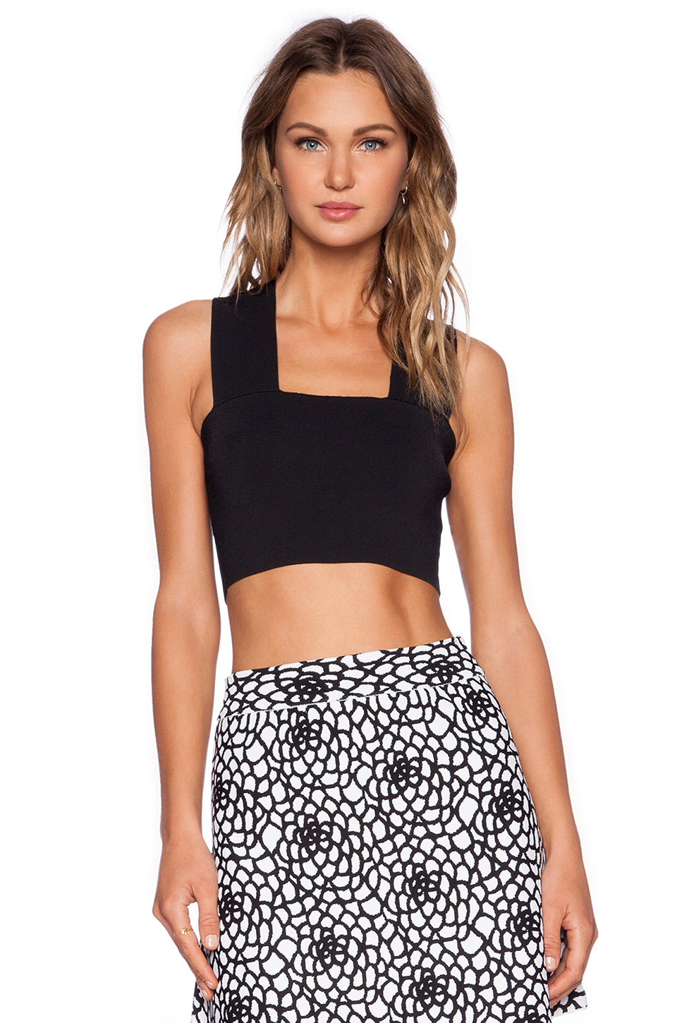A.L.C. Ali Top in Black
