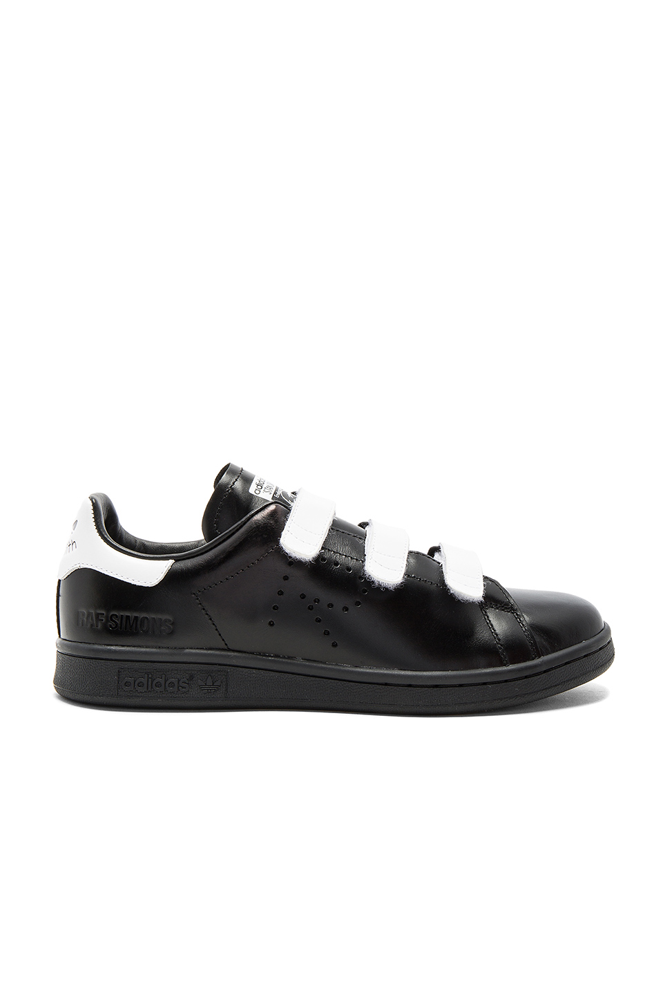 adidas by Raf Simons RS Stan Smith CF Sneaker in White & Black