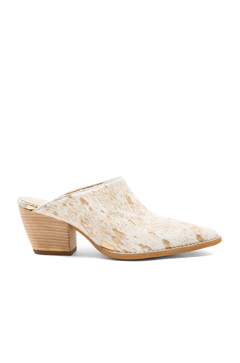 Matisse Cammy Cow Hair Heel in Ivory