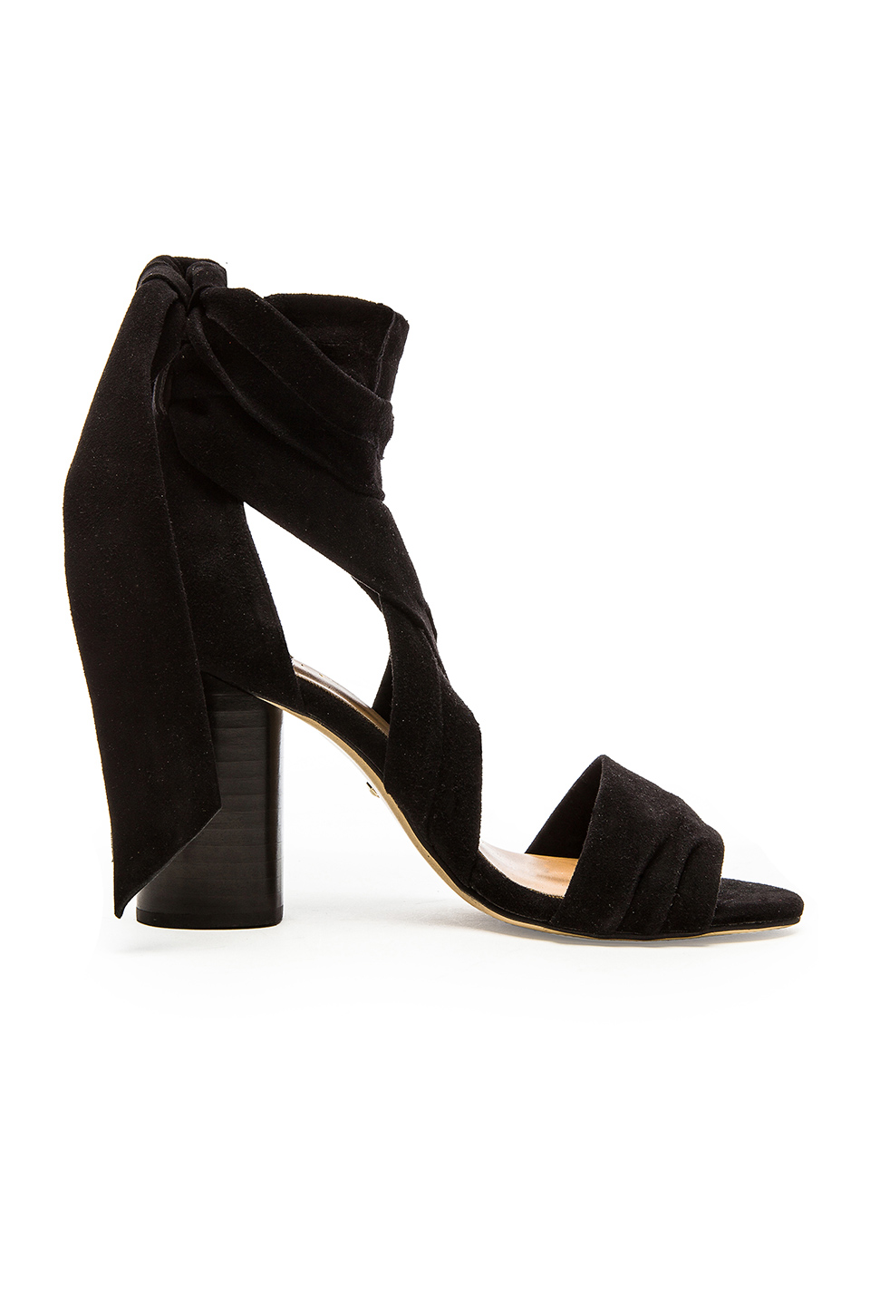 RAYE Mia Heel in Black