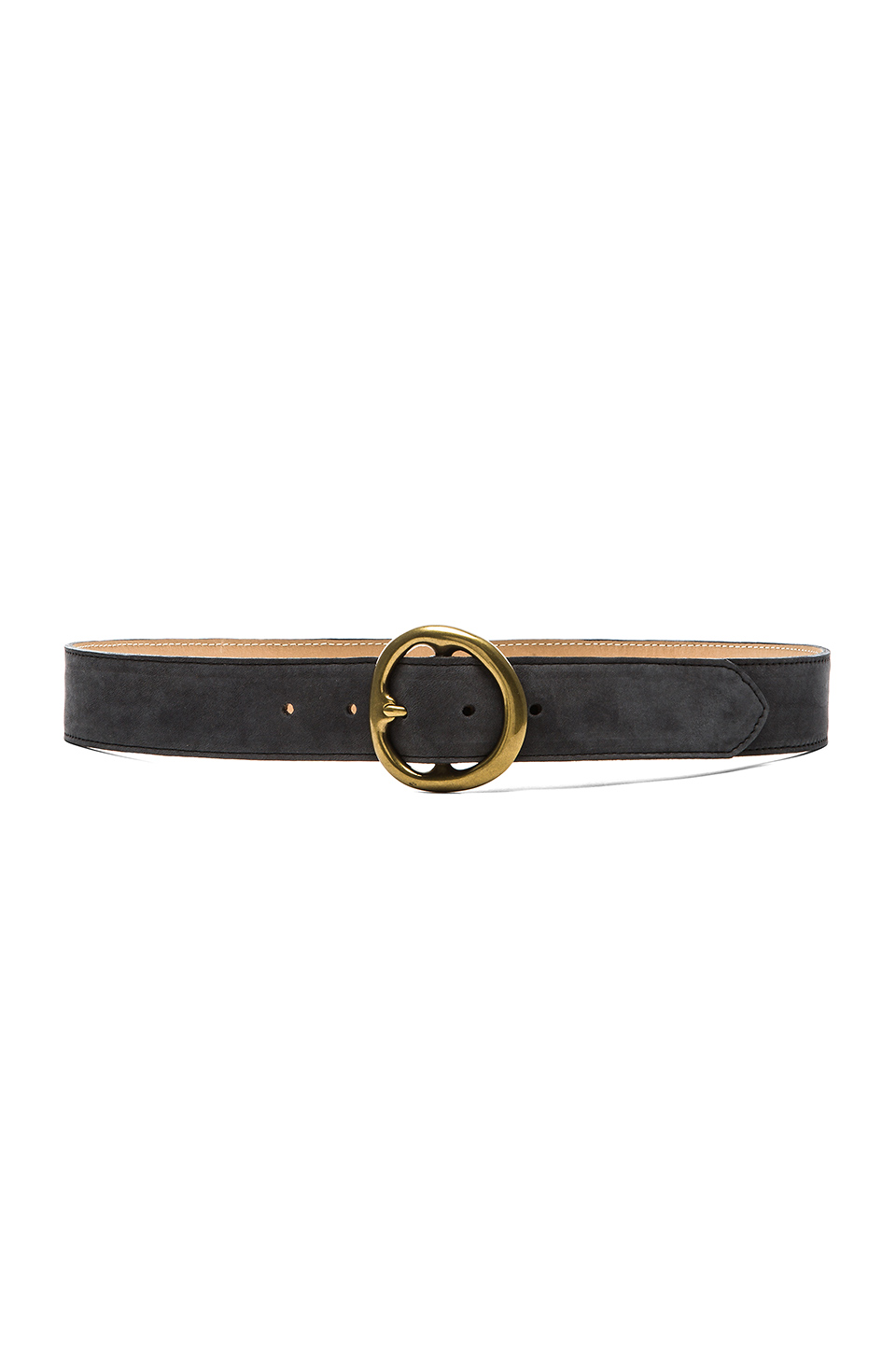 B-Low the Belt Baby Avery Belt in Slate Nuback