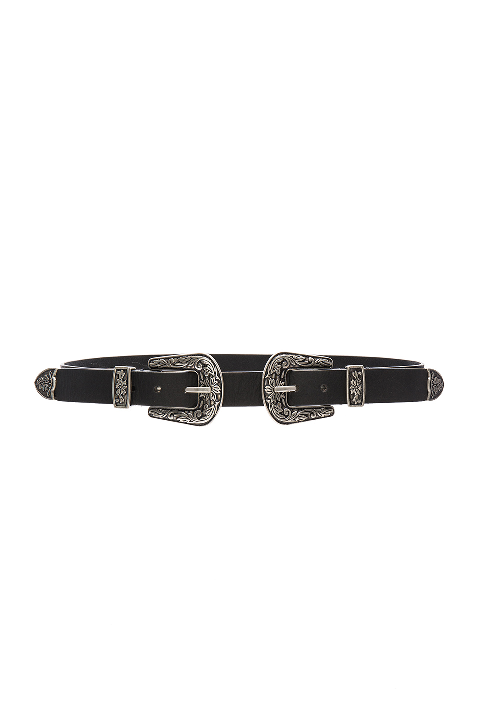 Lovers + Friends Tulsa Waist Belt in Black