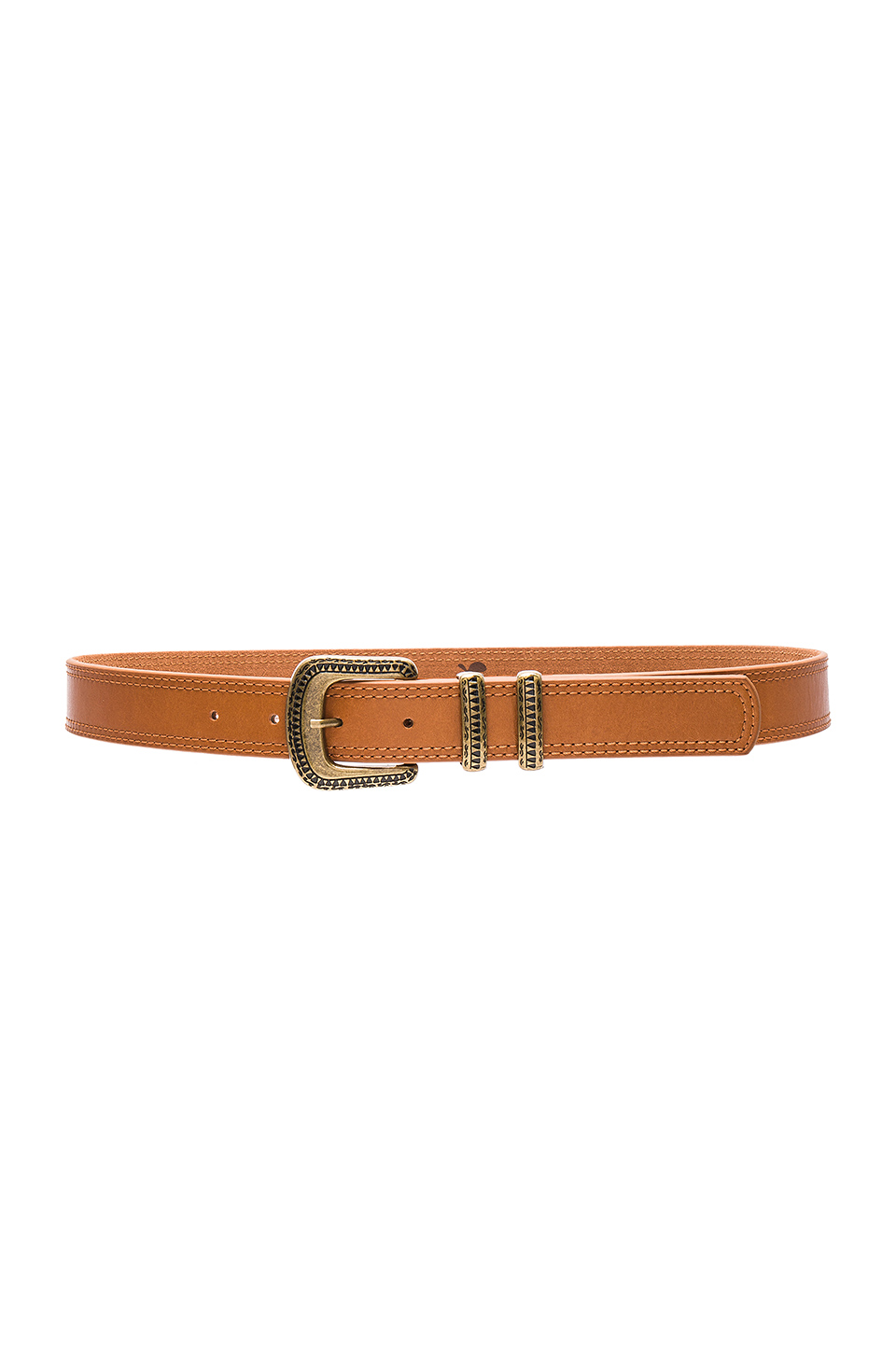 Lovestrength Florence Hip Belt in Honey & Antique Brass