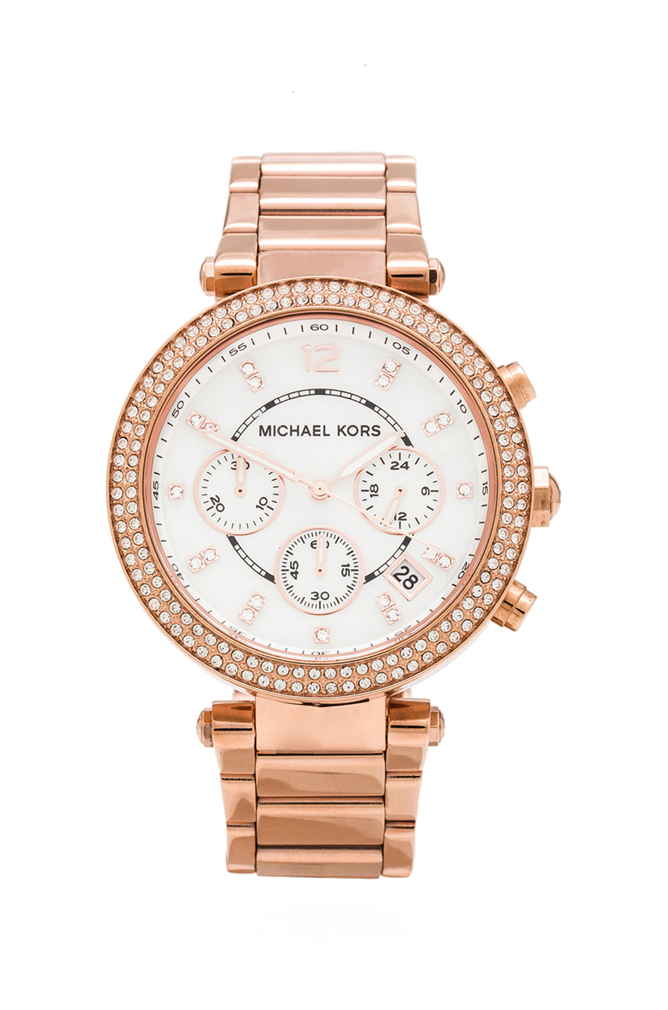 Michael Kors Parker Watch in Rose Gold